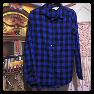 Classic flannel shirt from Old Navy